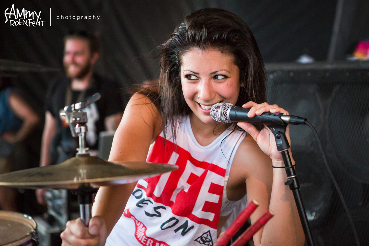 """Jess Bowen Releases """"Misery Business"""" Drum Cover"""