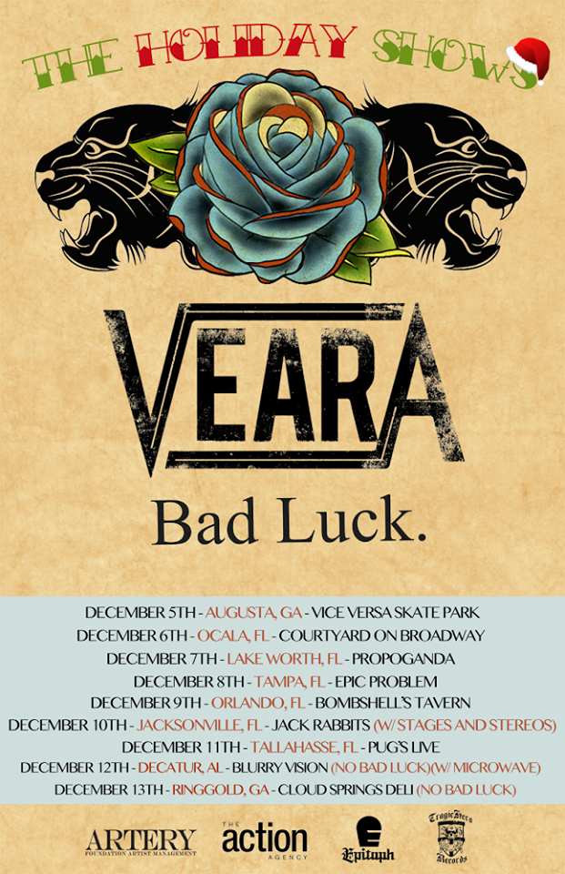 Veara Announce Holiday Shows with Bad Luck | Highlight Magazine