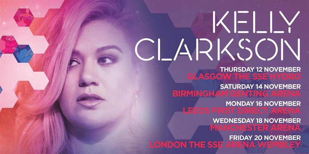 """Kelly Clarkson Announces UK """"Piece By Piece"""" Arena Tour Dates ..."""